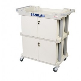 Carro Frigobar y Locker SANILAB(SA37400)
