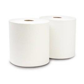 Bobina Papel Blanca Doble Hoja Pack X 2Un